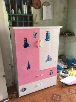 tủ trẻ em 2 cánh