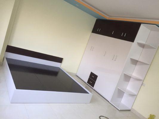 tủ 5 buồng + giường