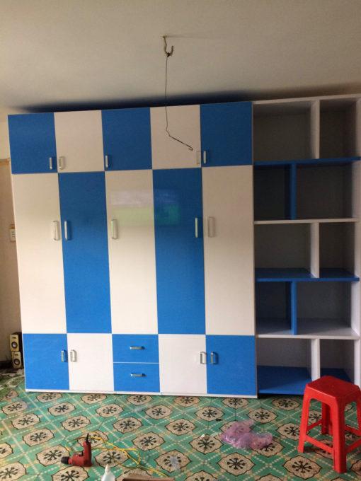 tủ nhựa đài loan kèm trang trí