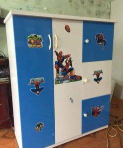 tủ trẻ em 3 ngăn 2 cánh