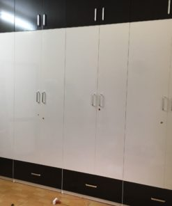 tủ 8 buồng đen trắng